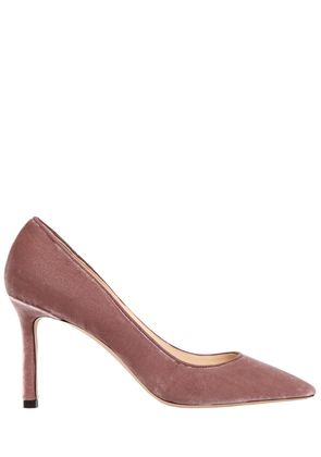 85MM ROMY VELVET PUMPS