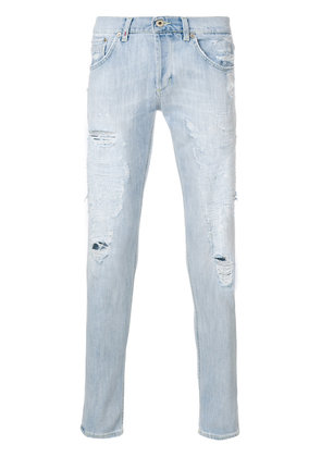 Dondup distressed skinny jeans - Blue