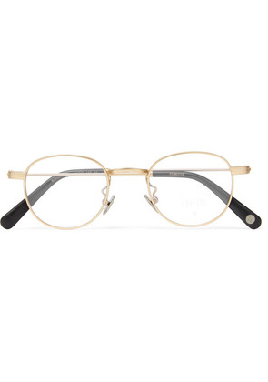 Bingfield Round-frame Gold-tone Optical Glasses