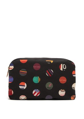 Cycle Jersey polka-dot washbag