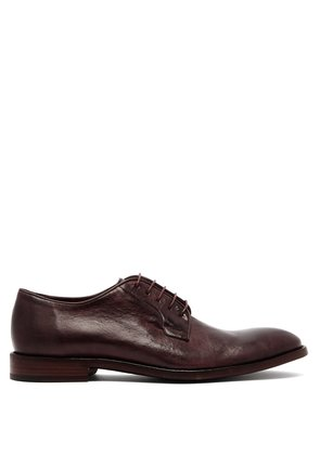 Chester leather derby shoes