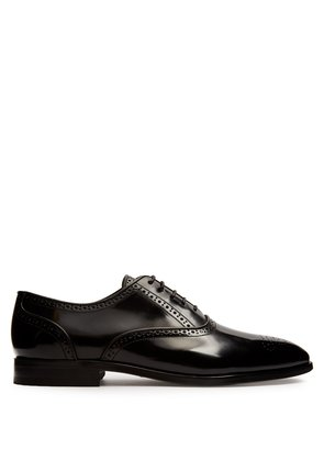 Gould leather derby shoes