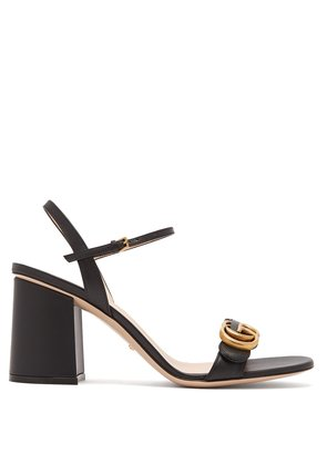 GG Marmont block-heel sandals