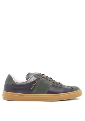 Levon low-top leather trainers