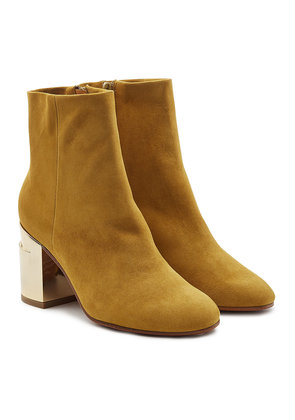 Robert Clergerie Keyla Suede Ankle Boots