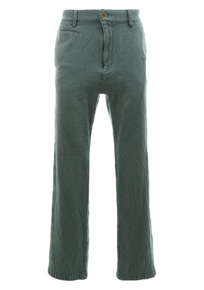 Undercover straight trousers - Green