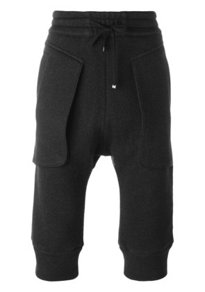 Helmut Lang cropped trousers - Black