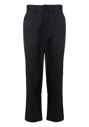 Stampd cropped chinos - Blue