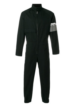 Prada jumpsuit with armband graphic - Black
