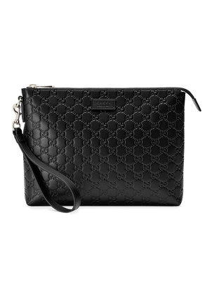 Gucci Gucci Signature soft men's bag - Black