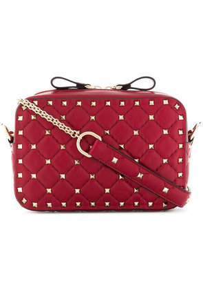Valentino quilted Rockstud crossbody bag - Red