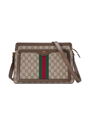 Gucci GG Supreme medium shoulder bag - Nude & Neutrals