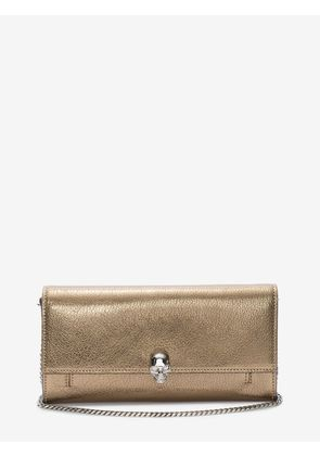 ALEXANDER MCQUEEN Wallets with chain - Item 45407619