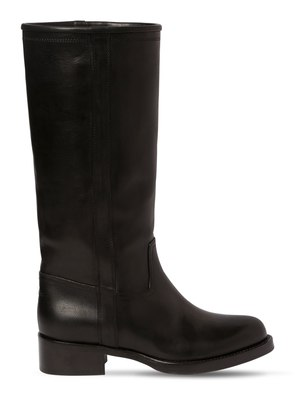 30MM LEATHER BOOTS