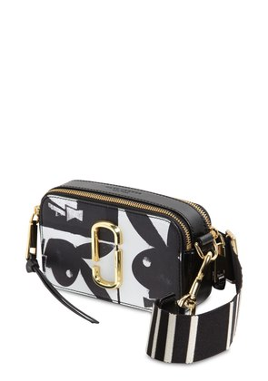SNAPSHOT PLAYBOY LEATHER SHOULDER BAG