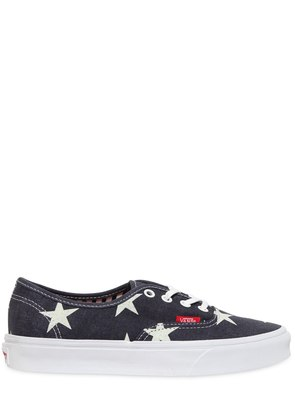 AUTHENTIC STARS PRINTED COTTON SNEAKERS