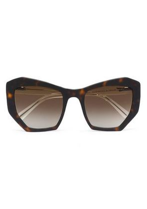 Prism Woman Cat-eye Acetate Sunglasses Brown Size Prism reDvCV4K