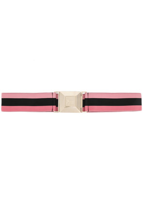 Gucci square buckle waist belt - Pink & Purple