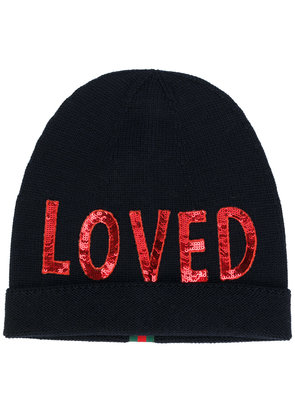 Gucci Loved beanie - Blue