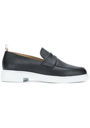 Thom Browne contrast sole loafers - Black
