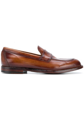 Officine Creative classic loafers - Brown