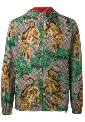 Gucci Bengal tiger print jacket - Multicolour