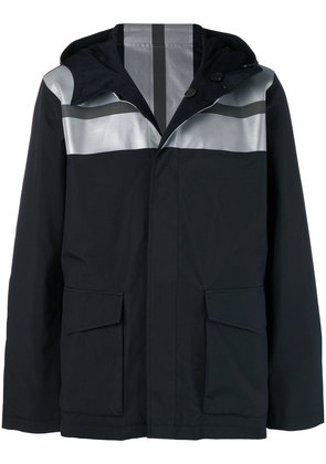 Karl Lagerfeld reversible reflective panel jacket - Black