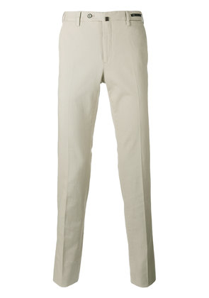 Pt01 slim-fit chino trousers - Nude & Neutrals