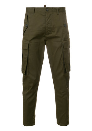 Dsquared2 classic cargo trousers - Green