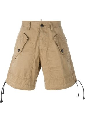 Dsquared2 multi pocket shorts - Nude & Neutrals
