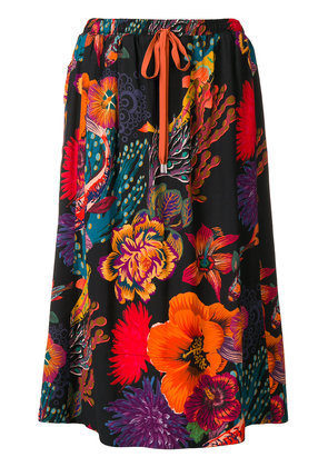 Paul Smith ocean print skirt - Multicolour