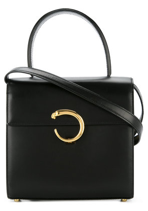 Cartier Vintage top handle bag - Black