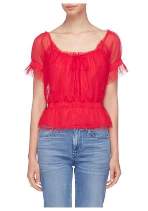 'Sweeny' tulle top