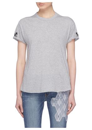 'The Two Hundred' embroidered T-shirt