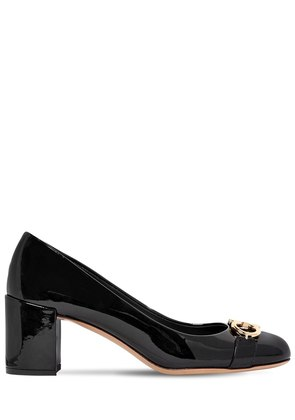 55MM GARDA PATENT LEATHER PUMPS