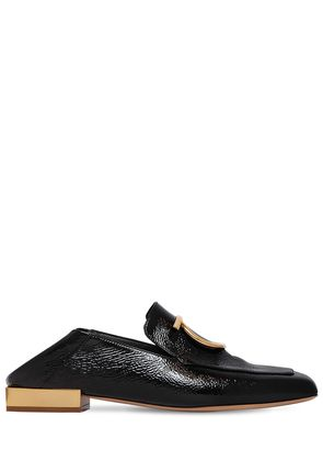 20MM LANA CRACKLED LEATHER LOAFERS