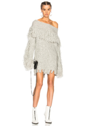 Philosophy di Lorenzo Serafini Sweater Dress in Gray