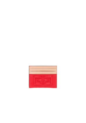 Givenchy Emblem Card Case in Red