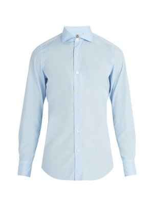 Seattle cotton-poplin shirt
