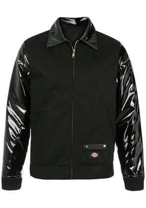 À La Garçonne Dickies vinyl panels jacket - Black