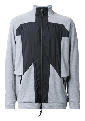 11 By Boris Bidjan Saberi panelled sport jacket - Grey