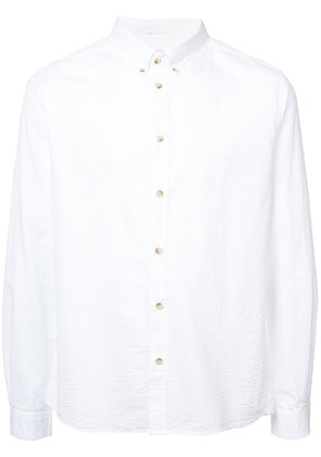 Cuisse De Grenouille long-sleeve fitted shirt - White