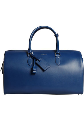 Burberry London leather holdall - Blue