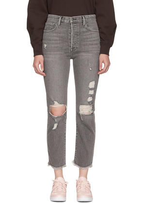 Frame Denim Grey le Original Release Hem Jeans