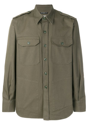 Department 5 military style shirt - Green