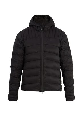 Brookvale quilted down hooded jacket