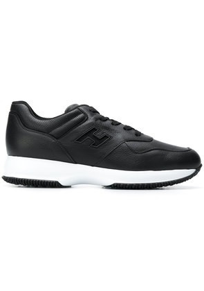 Hogan lace-up sneakers - Black