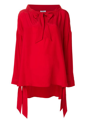 P.A.R.O.S.H. tie neck blouse - Red