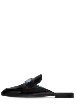 10MM PATENT LEATHER MULES