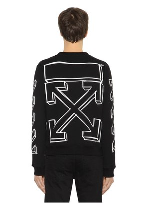 SLIM FIT MARKER ARROWS SWEATSHIRT